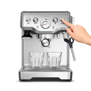 Using the Breville The Infuser Espresso Machine Option Panel