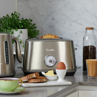 Breville The Toast Select Luxe Toaster, Royal Champagne