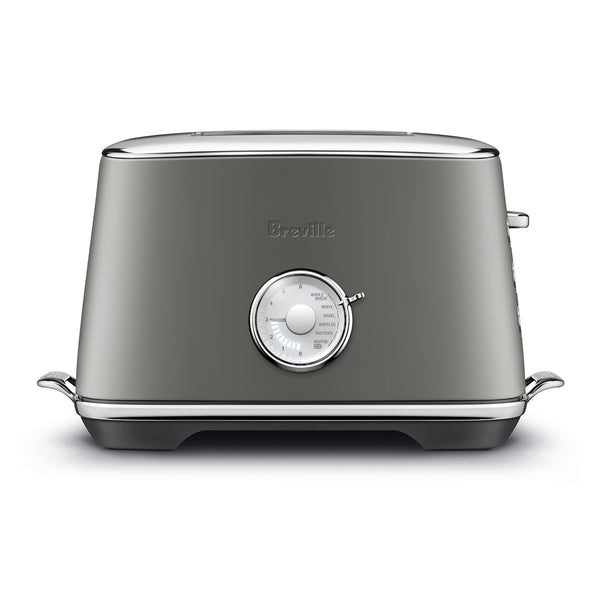 Breville The Toast Select Luxe Toaster, Smoked Hickory
