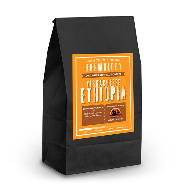 Ethiopia Yirgacheffe FTO Whole Bean Coffee 1lb