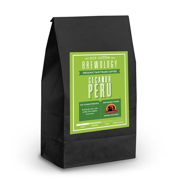 Peruvian Cecanor FTO Whole Bean Coffee 1lb
