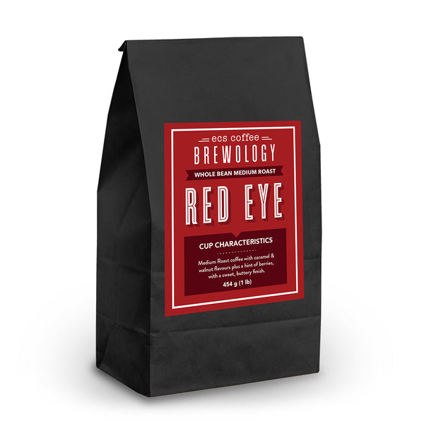 Brewology Red Eye Whole Bean Coffee 1lb