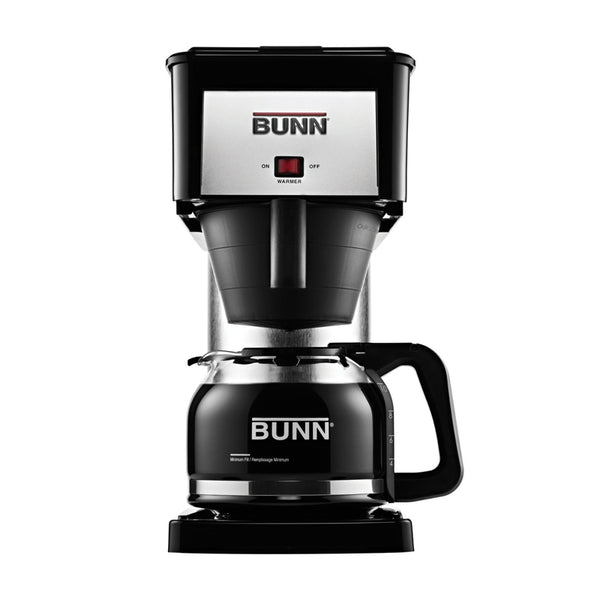 BUNN BX-B Velocity Brew 10-Cup Glass Carafe Coffee Maker