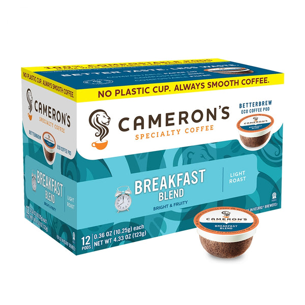 Cameron's Breakfast Blend Single Serve Coffee 12 Pack