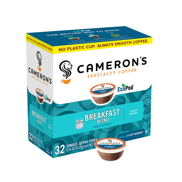Camerons Breakfast Blend Single Serve Coffee 32 Pack
