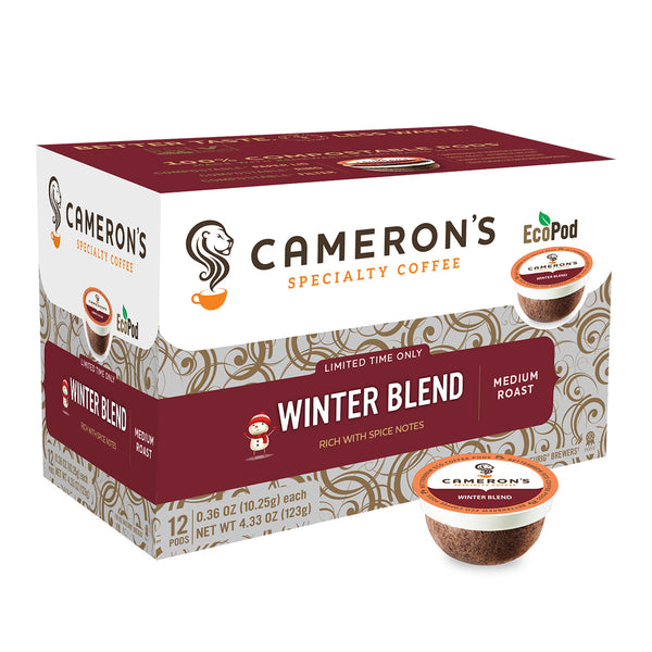 Cameron's Winter Blend Single Serve Coffee 12 Pack