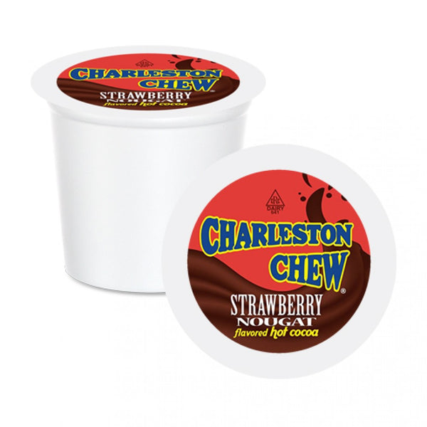 Charleston Chew Strawberry Nougat Hot Cocoa Single Serve 24 Pack