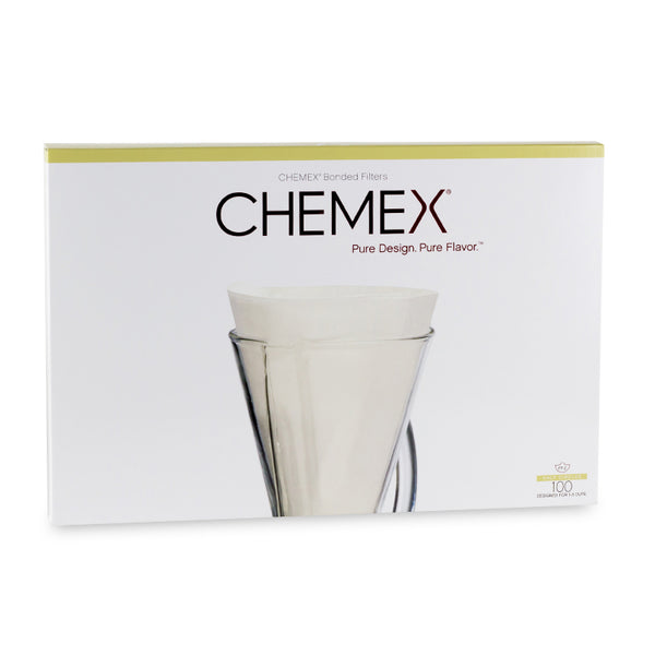 Chemex Bonded Filters FP-2 Unfolded Half Moon