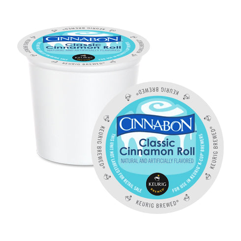 Cinnabon Classic Cinnamon Roll K-Cup Pods 24 Pack