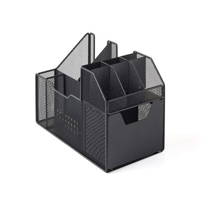 Nifty Solutions Coffee Condiment Center #8810, Black