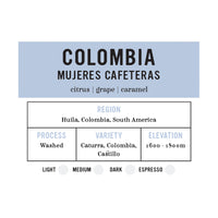 I.XXI Colombia Mujeres Cafeteras Whole Bean Coffee, 12 oz.