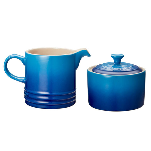 Le Creuset Stoneware Cream & Sugar Set - Blueberry