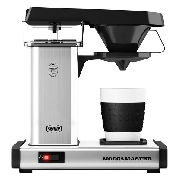 Technivorm Moccamaster Cup-One Coffee Maker, Polished Silver