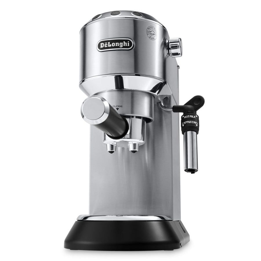 DeLonghi Dedica DeLuxe Manual Espresso Machine, Stainless Steel