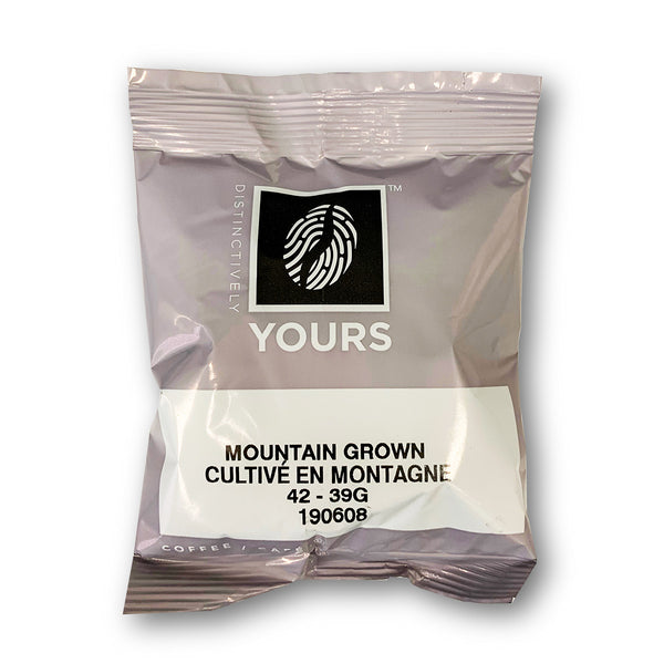 Distinctively Yours Mountain Grown Coffee Fraction packs, 39 G x 42 Packets
