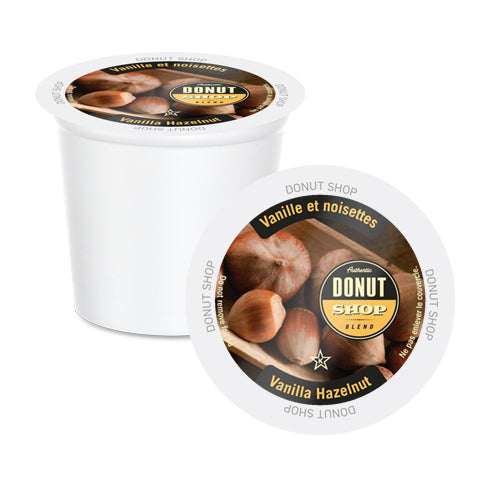 Donut Shop Vanilla Hazelnut Single Serve Coffee 24 Pack