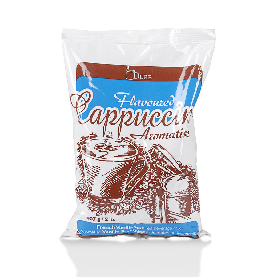 Dure French Vanilla Powdered Cappuccino, 2 lb bag