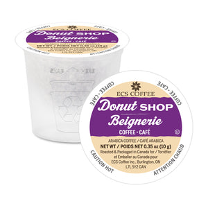 ECS Coffee Donut Shop Blend Single Serve Coffee 70 Pack