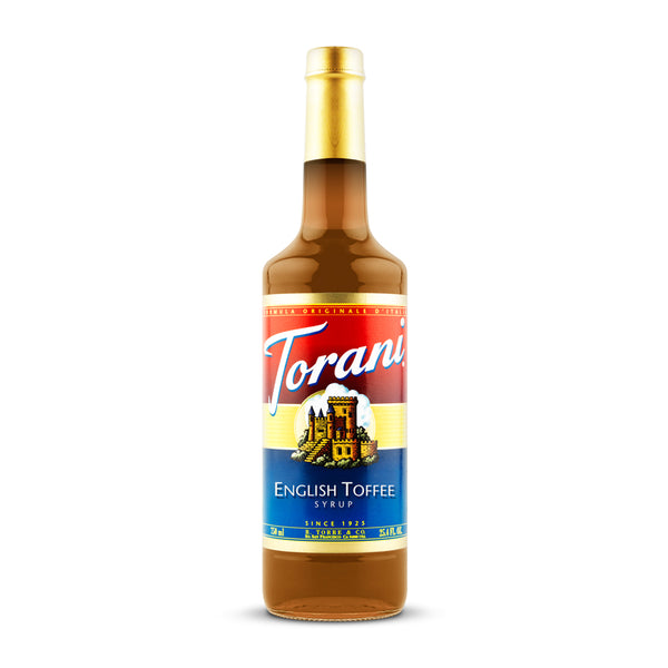Torani English Toffee 750ml