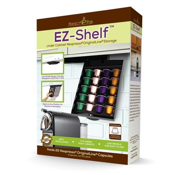 Perfect Pod EZ-Shelf for Nespresso Capsules