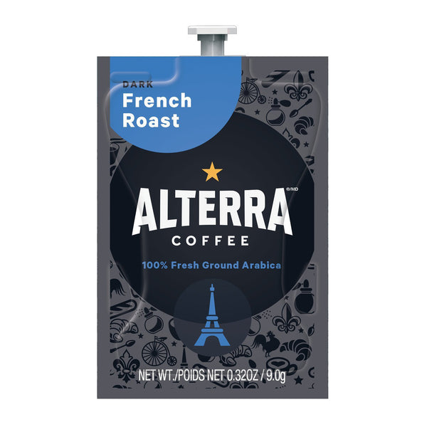 Alterra French Roast Coffee Flavia Freshpacks