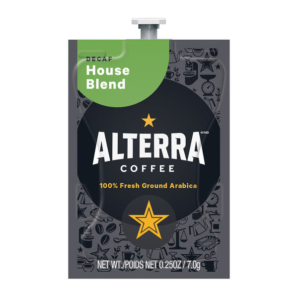 Alterra House Blend Decaf Coffee Flavia Freshpacks