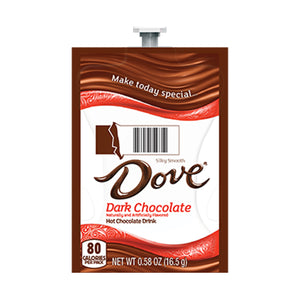 Dove Dark Hot Chocolate Flavia Freshpacks