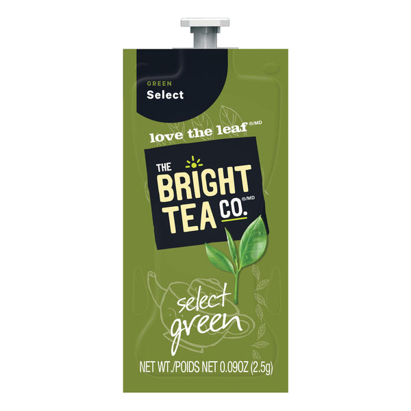 The Bright Tea Co. Select Green Single Serve Tea Freshpacks