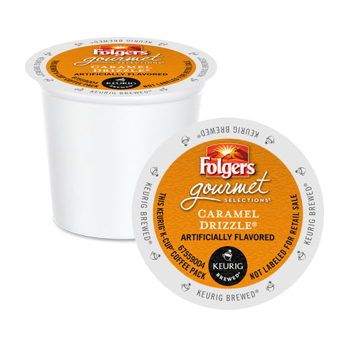 Folgers Gourmet Selections Caramel Drizzle K-Cup Pods 24 Pack