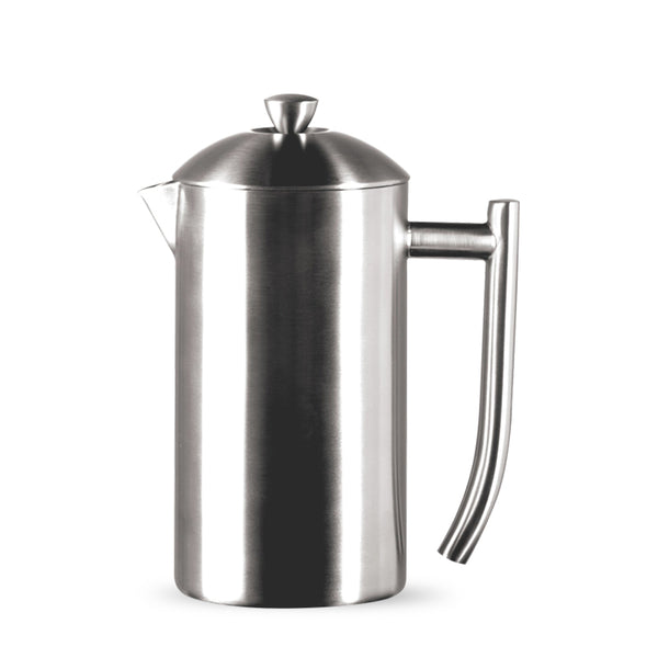 Frieling Brushed Stainless Steel Insulated French Press, 6-Cup