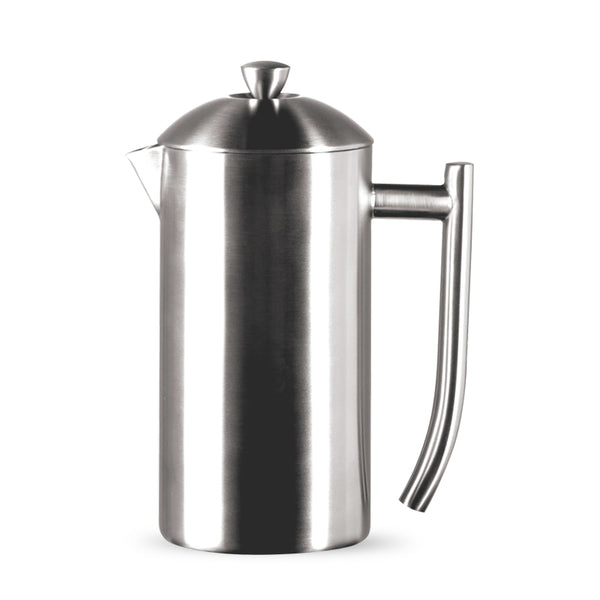 Frieling Brushed Stainless Steel Insulated French Press, 7-Cup