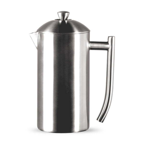 Frieling Brushed Stainless Steel Insulated French Press, 9-Cup