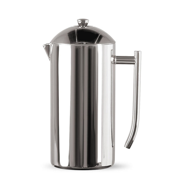 Frieling Polished Stainless Steel Insulated French Press, 7-Cup