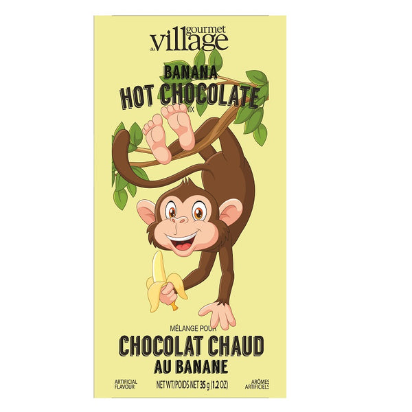 Gourmet du Village Banana Flavoured Hot Chocolate Mix