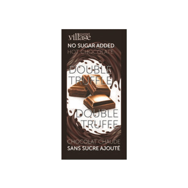 Gourmet du Village No Sugar Added Double Truffle Hot Chocolate Mix