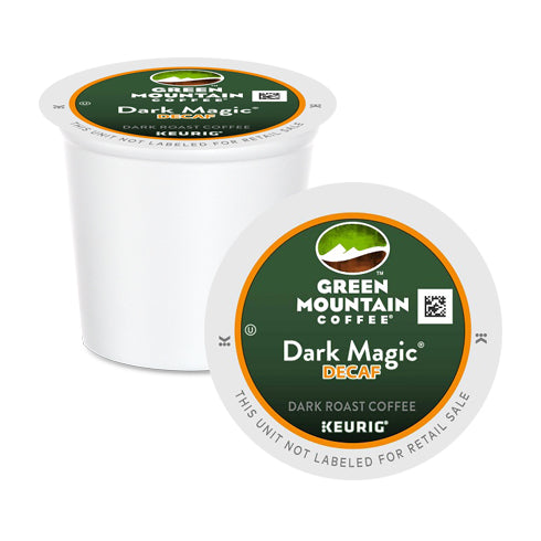 Green Mountain Coffee Dark Magic Decaf XB K-Cup Pods 24 Pack