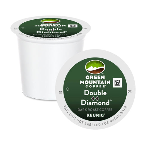 Green Mountain Coffee Double Black Diamond XB K-Cup Pods 24 Pack