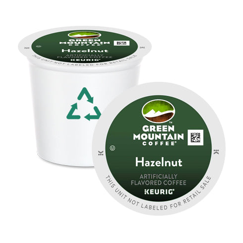 Green Mountain Coffee Hazelnut K-Cup Pods 24 Pack