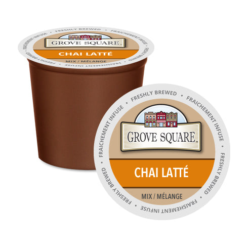 Grove Square Chai Latte Single Serve 24 Pack