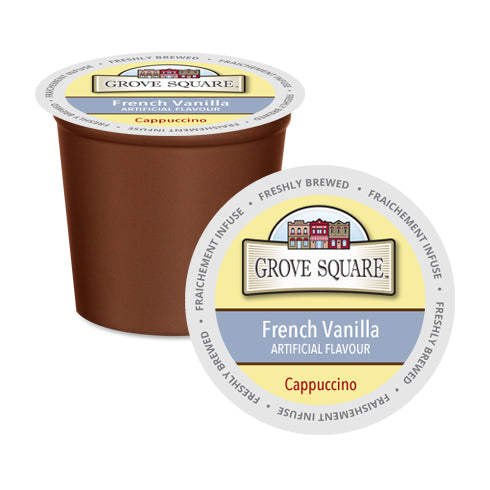 Grove Square French Vanilla Single Serve Cappuccino 24 Pack