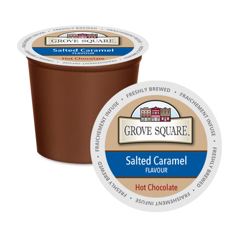 Grove Square Salted Caramel Single Serve Hot Chocolate 24 Pack