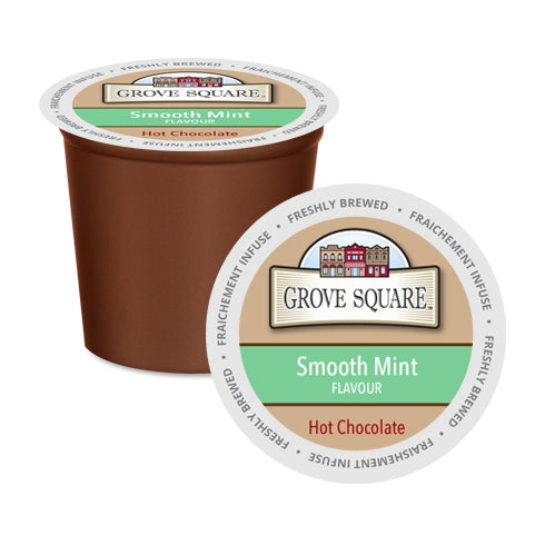 Grove Square Smooth Mint Single Serve Hot Chocolate 24 Pack