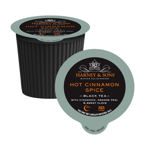 Harney & Sons Hot Cinnamon Spice Single Serve Tea 24 Pack