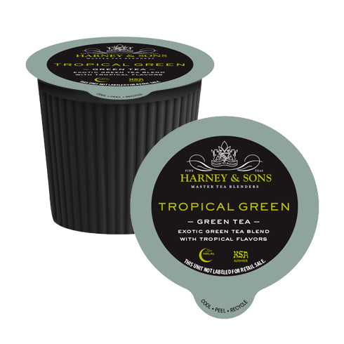 Harney & Sons Tropical Green Single Serve Tea 24 Pack