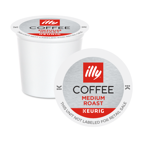 illy Medium Roast Coffee K-Cup Pods 10 Pack