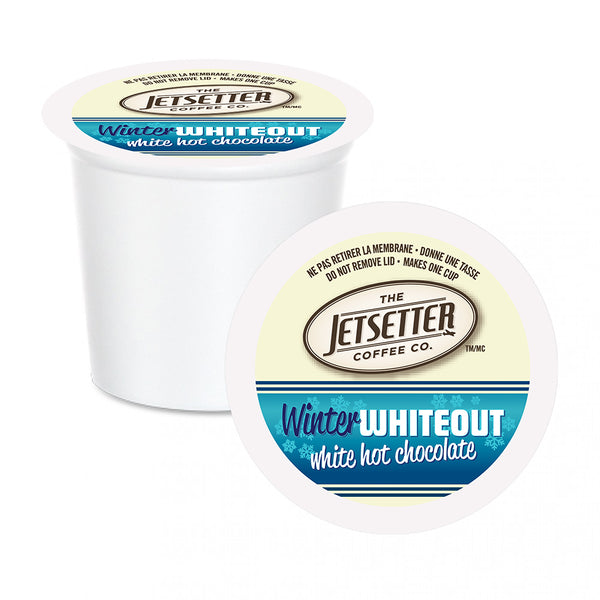 Jetsetter Winter Whiteout Single Serve Hot Chocolate 22 Pack