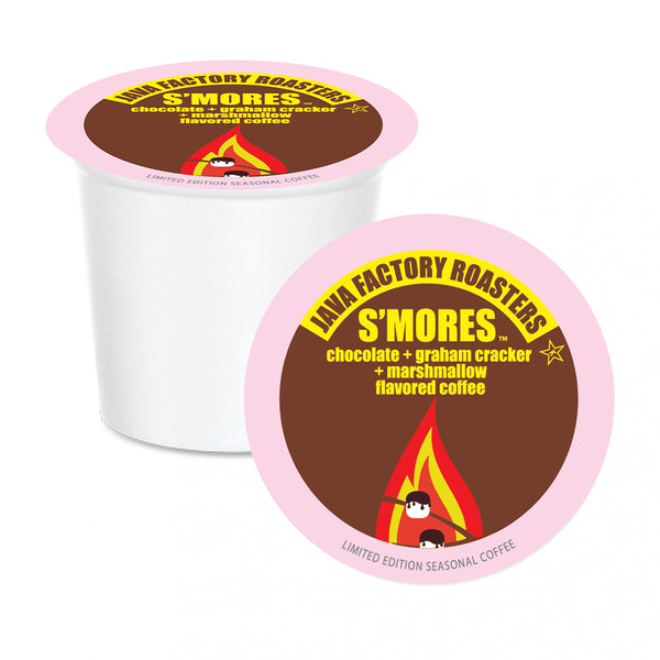 Java Factory Roasters S'mores Single Serve Coffee 12 Pack
