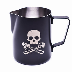 JoeFrex Frothing & Foaming Milk Pitcher, Pirate Style #MK06XP