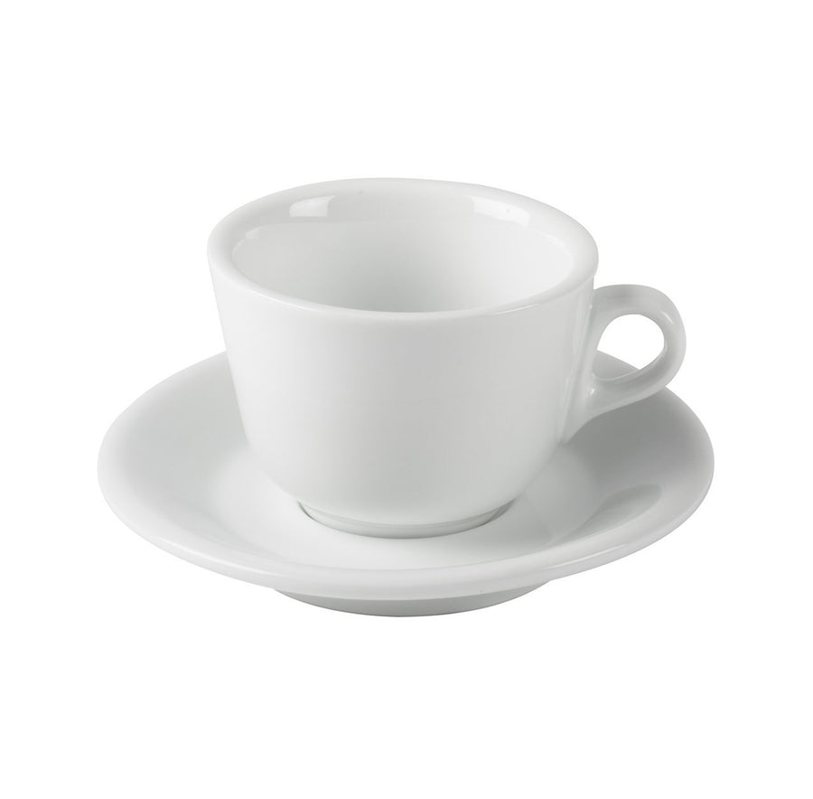 JoeFrex Cappuccino Cups with Saucers, Set of 6