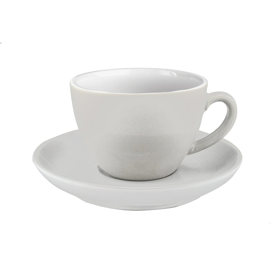 JoeFrex Coffee Cups with Saucers, Set of 4